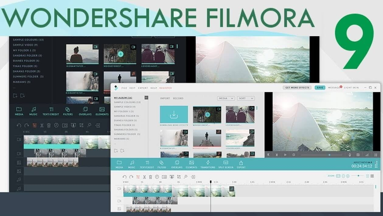 Wondershare Filmora 9.3 Crack Plus Activation key Download
