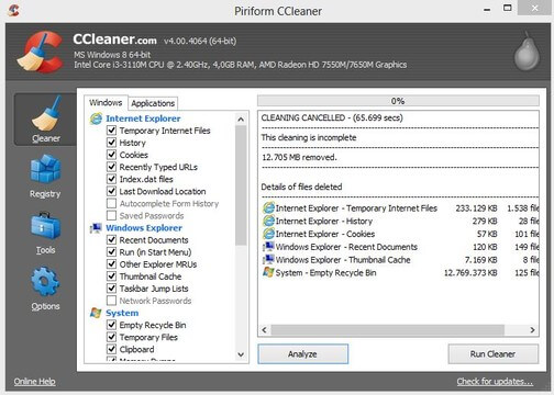 CCleaner Pro Crack v5.73.8130 + License Key Full Download