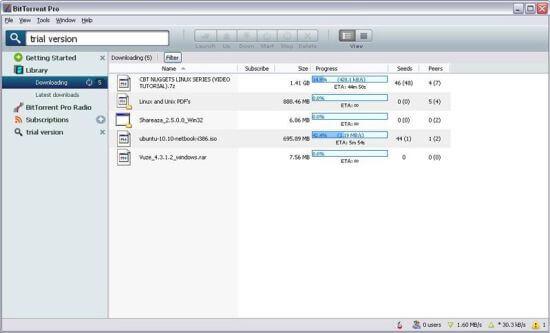 BitTorrent Pro Crack 7.10.5 Build 45785 Latest Download