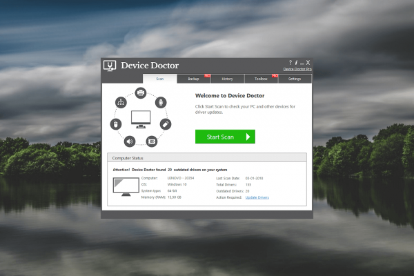Device Doctor Pro Crack & License Key Full Download
