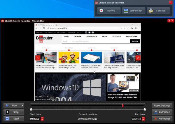 ChrisPC Screen Recorder Pro Crack