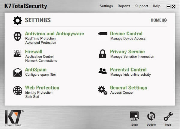 K7 Total Security V16.0.0456