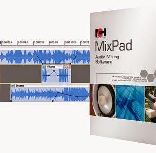 MixPad 7.26 Crack & Registration Keys