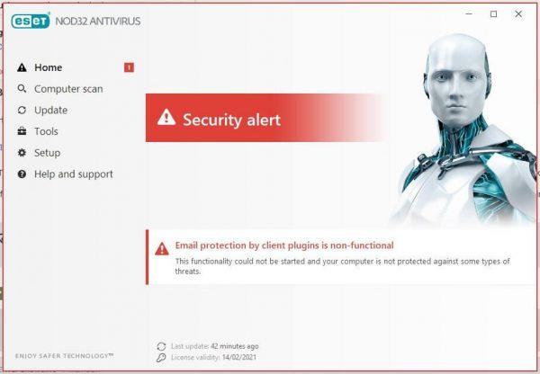 ESET NOD32 Antivirus 14.1.19.0