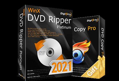WinX DVD Ripper Platinum 8.20.6 Crack Latest 2021 Download