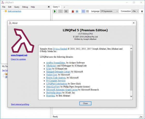 LINQPad Premium 6.13.13 Crack