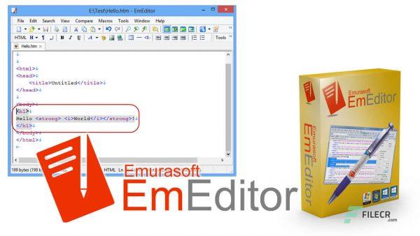 EmEditor Professional 20.7 Crack & Key