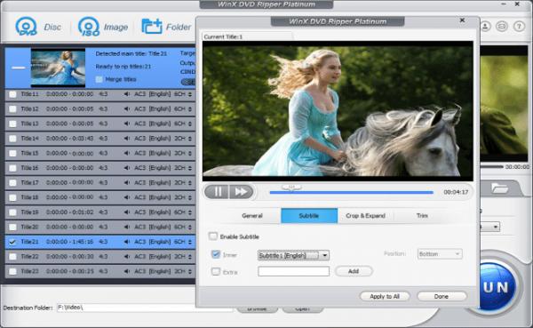 WinX DVD Ripper Platinum 8.20.6