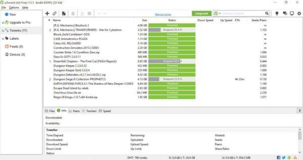 uTorrent Pro Crack 3.5.5 Build 45988