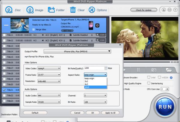 WinX DVD Ripper Platinum 8.20.6 Crack