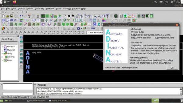 ADINA System 9.6.3 Crack With License Key 2021 Free