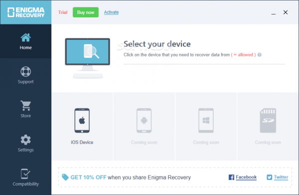 Enigma Recovery Professional Crack v4.0.0