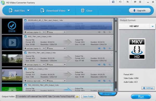 Wonderfox HD Video Converter Factory Pro 22.1