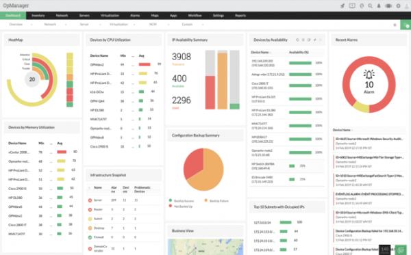 ManageEngine OpManager Enterprise 12.5.215 Crack