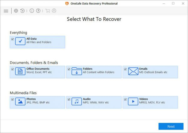 OneSafe Data Recovery Professional 9.0.0.4 & Crack Free Download
