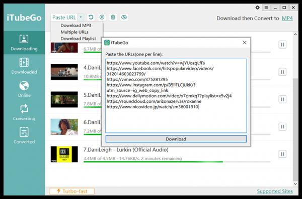 iTubeGo YouTube Downloader 4.3.5