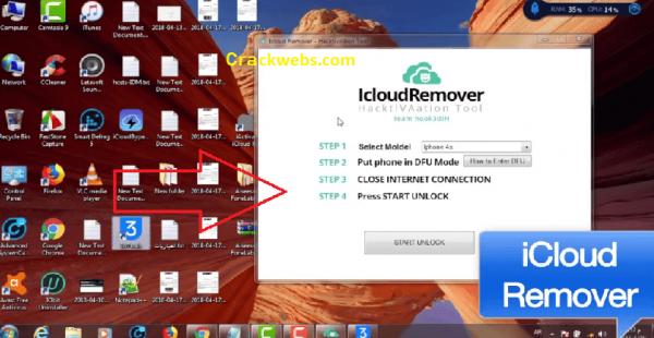iCloud Remover 1.0.2 Crack Incl Final Keygen