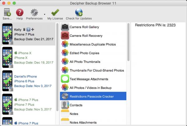 Decipher Backup Browser 14.4.8 Crack