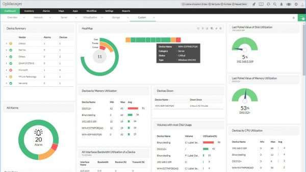 ManageEngine OpManager Enterprise 12.5.215
