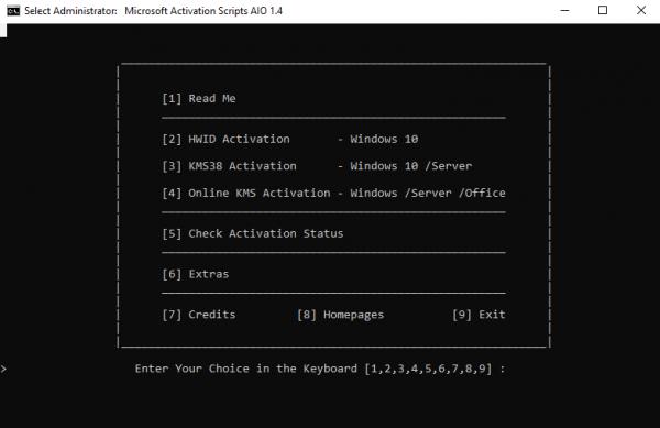 MICROSOFT Activation Scripts Crack V1.4 Free Download