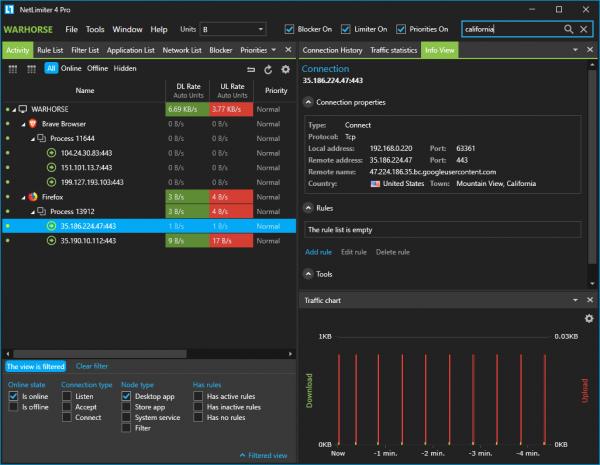 NetLimiter Pro 4.1.9.0 Crack 2021