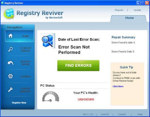 ReviverSoft Registry Reviver 4.23.1.6