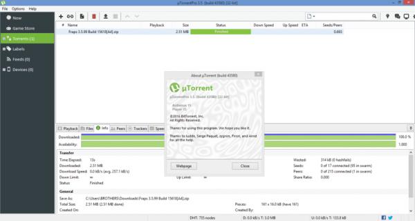 uTorrent Pro 3.5.5 Build 45966