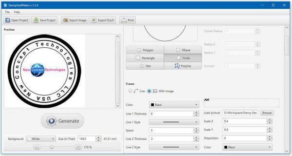 Stamp Seal Maker 3.189 Crack 2021