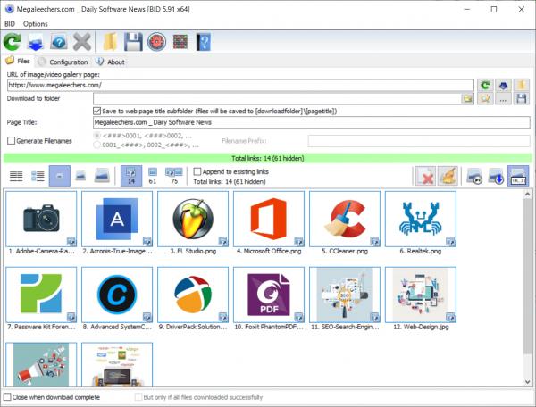 Bulk Image Downloader Crack 5.97.0