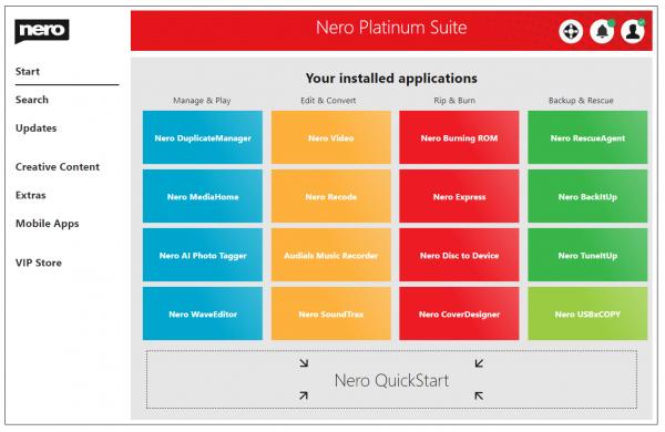 Nero Platinum 2021 Suite v23.5.1010 Full Download