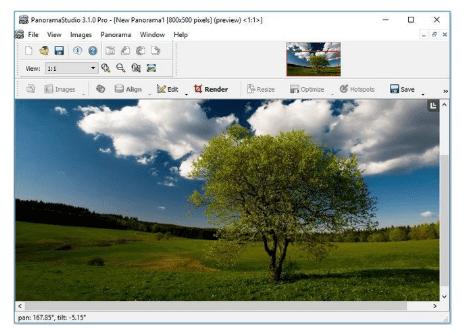 PanoramaStudio Pro 3.5.7.327 (x86) Crack