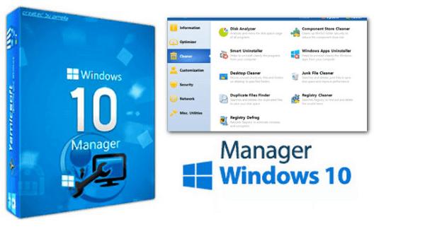 Yamicsoft Windows 10 Manager Crack 3.5.2 & Keygen Download [Latest]