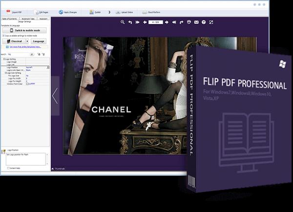 FlipBuilder Flip PDF Professional 2.4.10.2 Crack Full Download