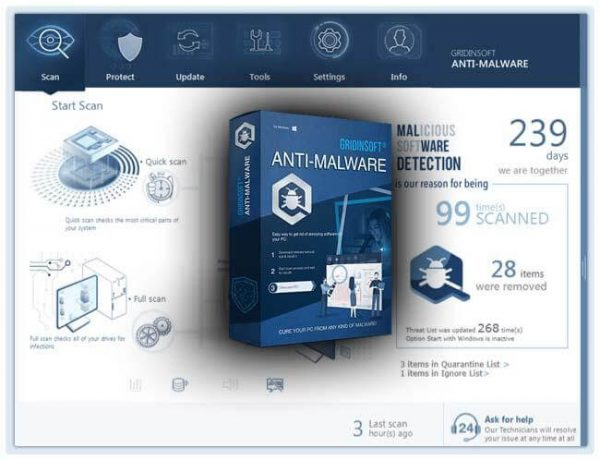 GridinSoft Anti-Malware Crack 4.1.98