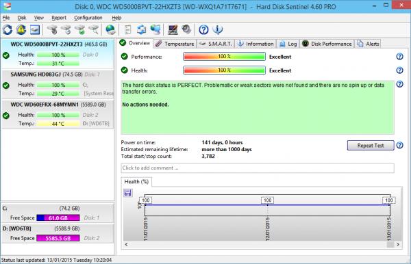 Hard Disk Sentinel Pro 5.70.6 Beta + Crack Download