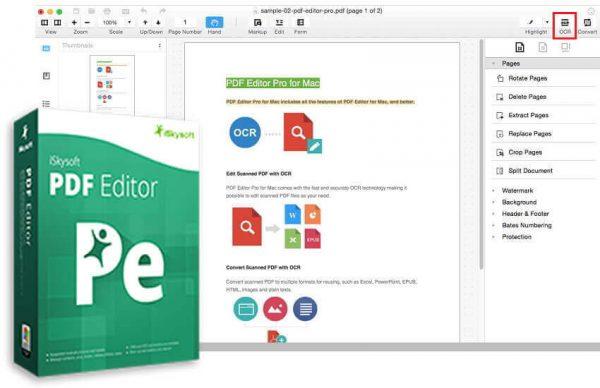 iSkysoft PDF Editor Crack 6.3.5