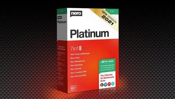 Nero Platinum 2021 Suite v23.5.1010 Crack