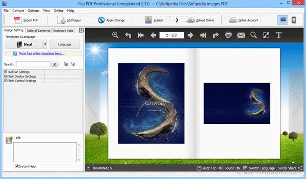 FlipBuilder Flip PDF Professional 2.4.10.2 Crack Free Download