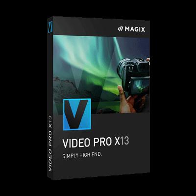 MAGIX Video Pro Crack X13