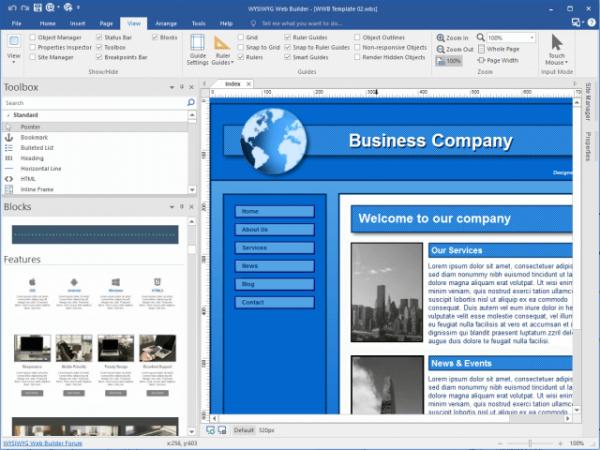 WYSIWYG Web Builder 16.3.1 Crack & License Key 2021