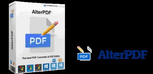 AlterPDF Pro 5.4 Crack + License Key 2021 Latest Download