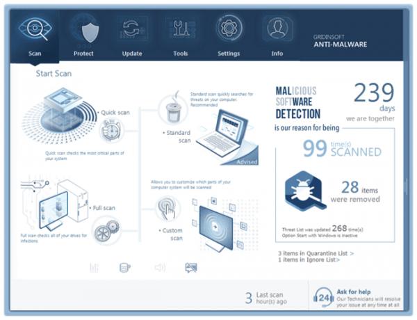 GridinSoft Anti-Malware Crack 2021