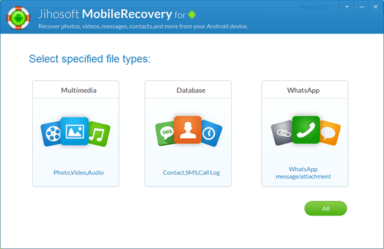 Jihosoft Android Phone Recovery Crack Download
