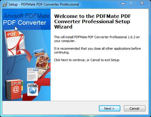 PDFMate PDF Converter Pro 2.01 Crack