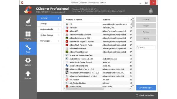 CCleaner Pro 5.84.9126 Crack & License Key Download