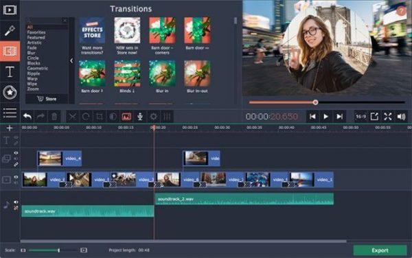 Movavi Video Editor Plus 21.5.0 Crack Download