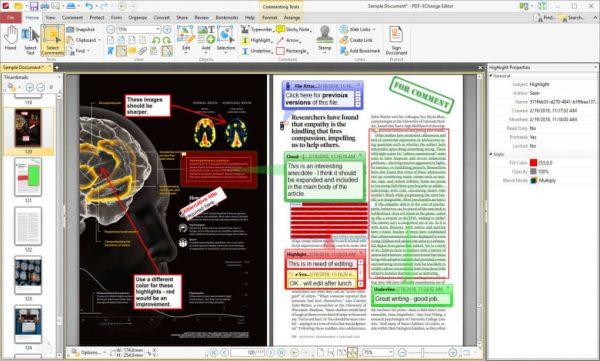 PDF XChange Editor 9.1.356.0 Crack