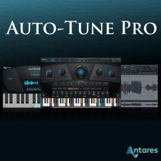 Antares AutoTune Pro Crack 9.2.1