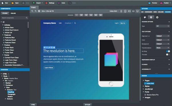 Bootstrap Studio 5.8.3 Crack Download