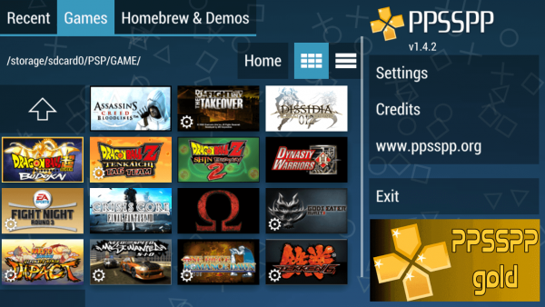 PPSSPP Gold – PSP Emulator v1.11.3